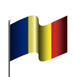Isolated flag vector