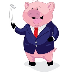 Piggy banker vector