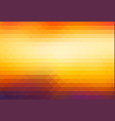 purple orange yellow red brown rows of triangles vector image
