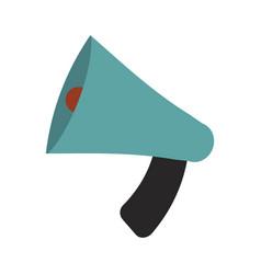 Megaphone bullhorn communication message loud vector