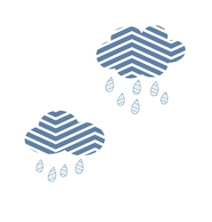 Clouds sky abstract rain nature storm cute vector