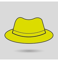 Hat icon design vector