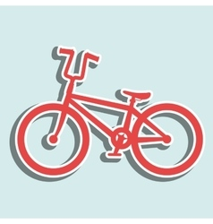 Ride bike design vector