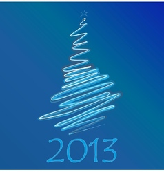 calendar to a new 2012 year vector image