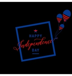 Fourth of july background felicitation cool fun vector