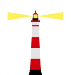 lighthouse vector image