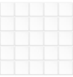 White tile texture seamless vector