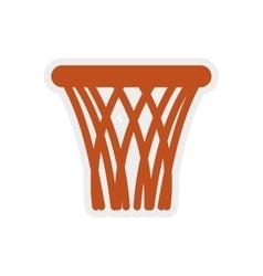 Basket icon Basketball design graphic vector image vector image