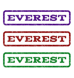 Everest watermark stamp vector