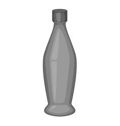 Perfume bottle icon monochrome vector
