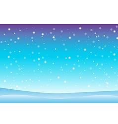 Snowfall and drifts 3 vector