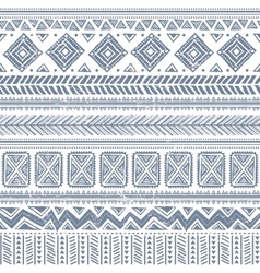 Abstract tribal pattern vector