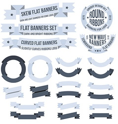 Banners collection vector