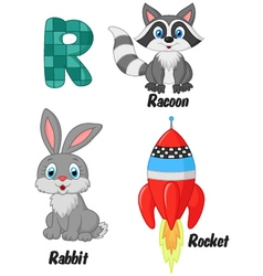 R alphabet vector
