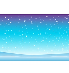 Snowfall and drifts 3 vector