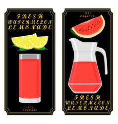 The theme lemonade vector