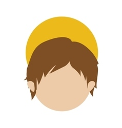 Young jesus icon image vector