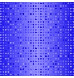 Dots on blue background halftone texture vector