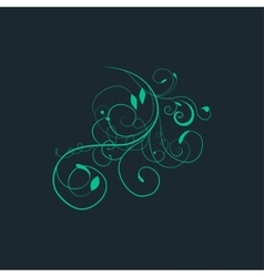 Ornamental background with pattern style vector