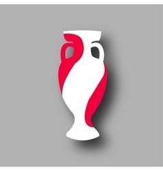 Sport competition cup poland participant vector