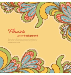 abstract background bright pattern vector image vector image