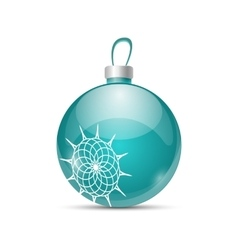 Christmas color ball vector
