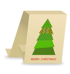 Christmas tree 3 vector