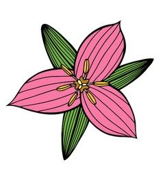 Flower 209 15 vector
