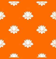 lotus pattern seamless vector image