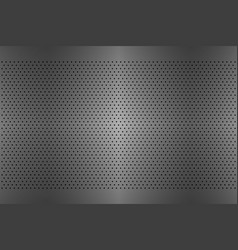 perforated metal texture aluminium grating vector image vector image