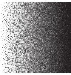 Stochastic raster halftone gradient print vector image vector image