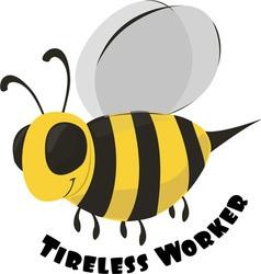 Tireless worker vector