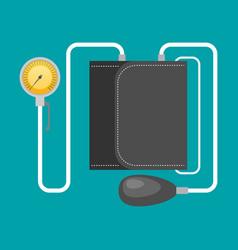 tonometer flat icon vector image