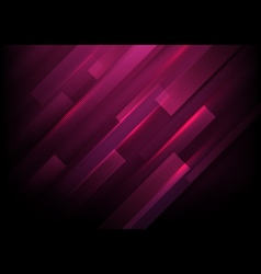 Abstract rectangles with purple lights background vector image