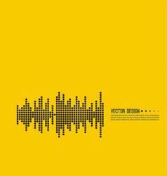 Music sound wave vector