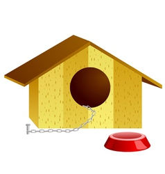 Of doghouse vector