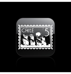 chile icon vector image