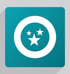 flat stars icon vector image vector image