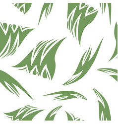 Pattern in striped style vector