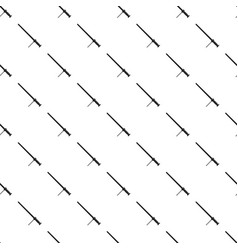 Rubber baton pattern vector