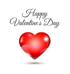 valentine day concept vector image vector image