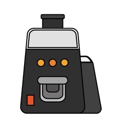 Isolated juicer machine design vector