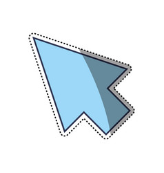 click arrow cursor vector image