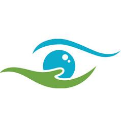 Eco logo template vector