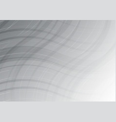 wave white and gray color abstract geometric for vector image vector image