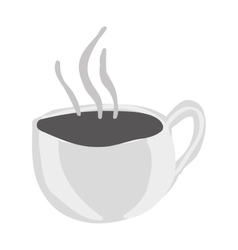 Mug with beverage icon image vector