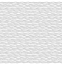 Seamless pattern with waves texture vector