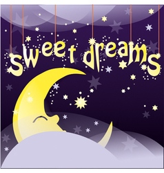 Sweet dreams vector