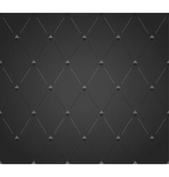 Abstract black rhombus seamless pattern vector image vector image
