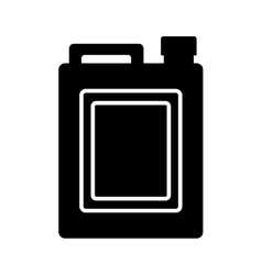 Oil gallon icon vector